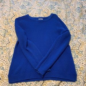 Think chunky sweater